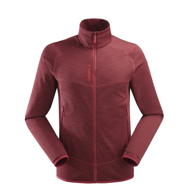 Polaire mix and match - homme SHIFT ZIP-IN Rouge Lafuma
