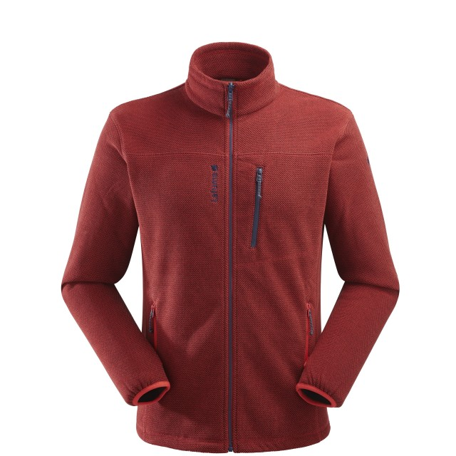 Polaire mix and match - homme TECHFLEECE F-ZIP M Rouge Lafuma
