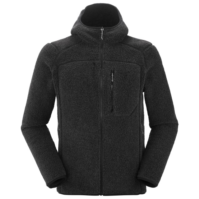 Polaire mix and match - homme DERRY HOODIE M Gris Lafuma