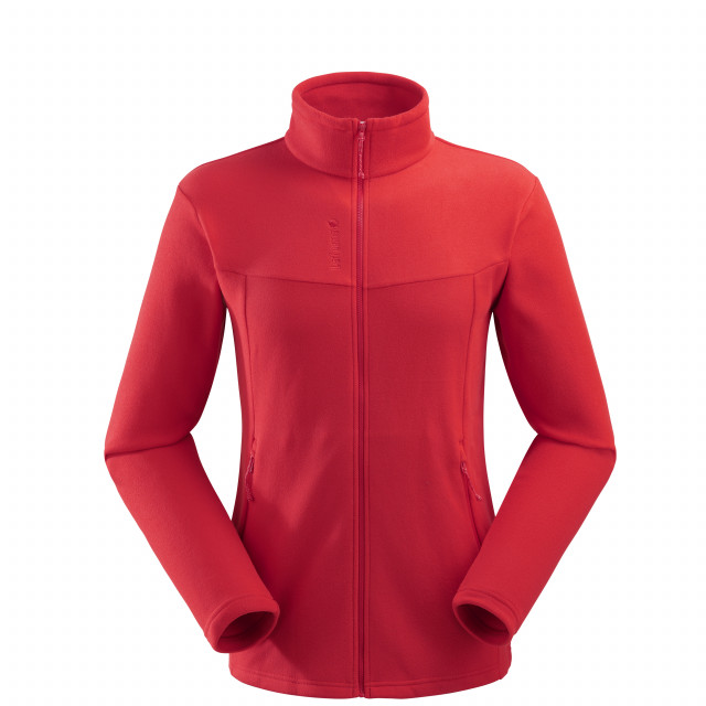 Micro polaire - homme ACCESS MICRO F-ZIP M Rouge Lafuma