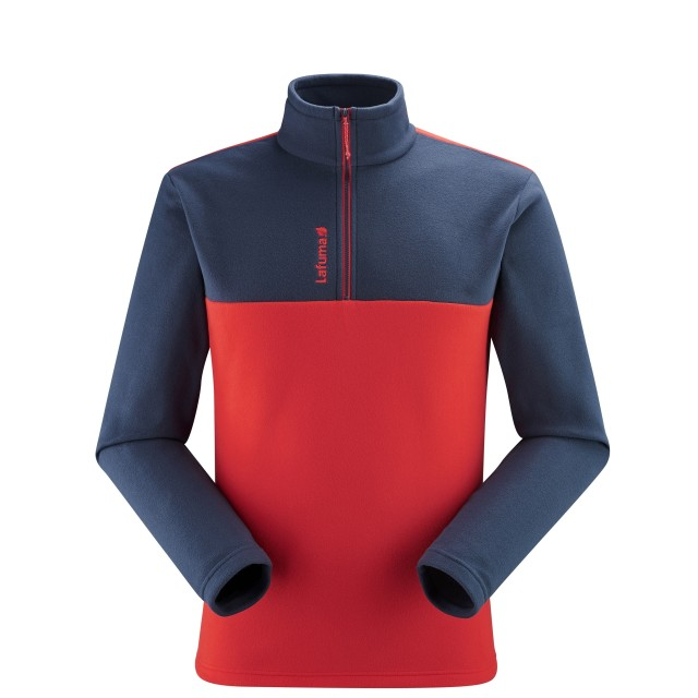 Micro-polaire - Homme - ROUGE ACCESS MICRO T-ZIP M Lafuma