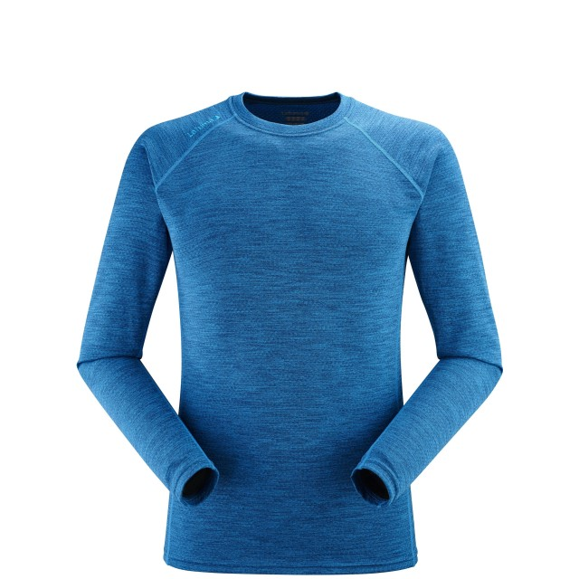 Tee-Shirt Techniques Manches longues - Homme - TURQUOISE SKIM TEE LS M Lafuma