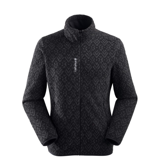 Polaire mix and match - homme STATEN F-ZIP M Noir Lafuma