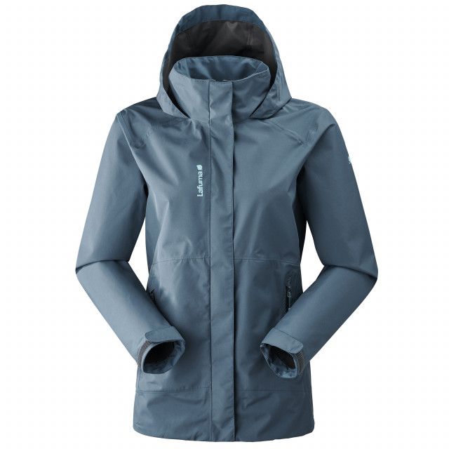 Veste gore-tex - femme WAY GTX ZIP-IN JKT W Bleu Lafuma