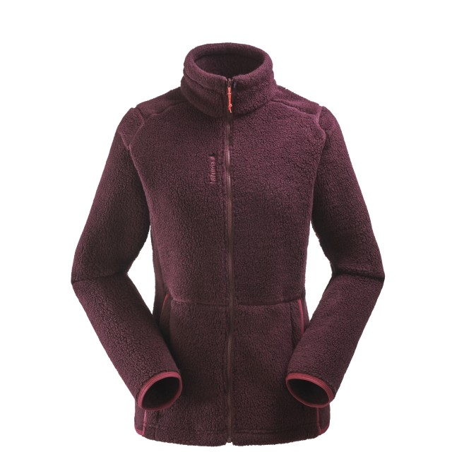 Polaire mix and match - femme LD DERRY F-ZIP Rouge Lafuma