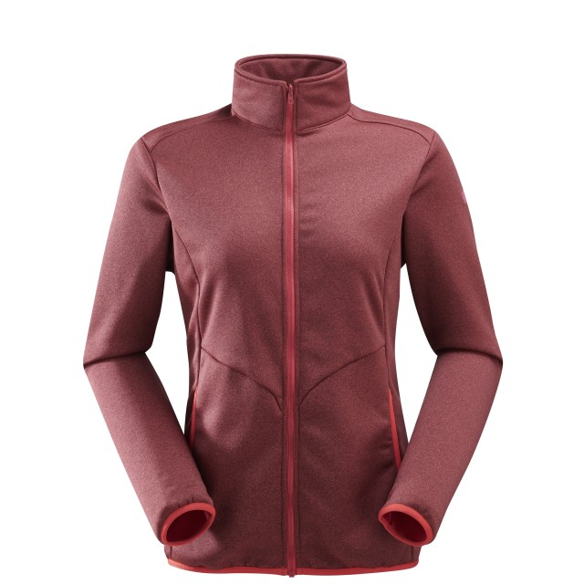Micro polaire mix and match - femme LD ACCESS F-ZIP Rouge Lafuma