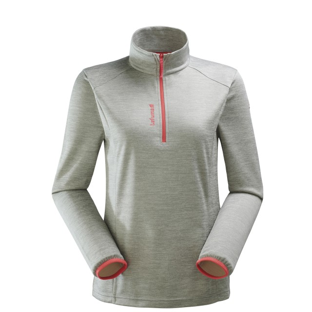 Micro polaire mix and match - femme LD ACCESS MICRO T-ZIP Gris Lafuma