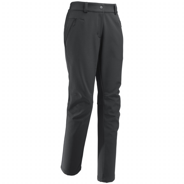 Pantalon softshell - femme ACCESS SOFTSHELL PANTS W Noir Lafuma