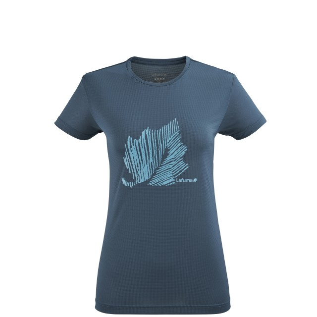 Tee-Shirt Manches courtes Femme CORPORATE TEE W GRIS Lafuma