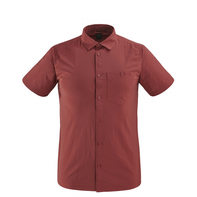Chemise manches courtes - Homme ACCESS SHIRT Rouge Lafuma