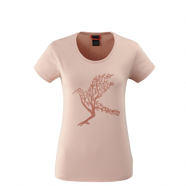 Tee-Shirt manches courtes - Femme MAPLE TEE W Rose Lafuma