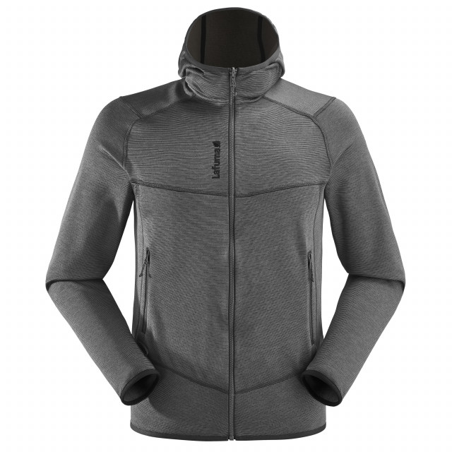 Polaire technique - homme SHIFT HOODIE M Gris Lafuma