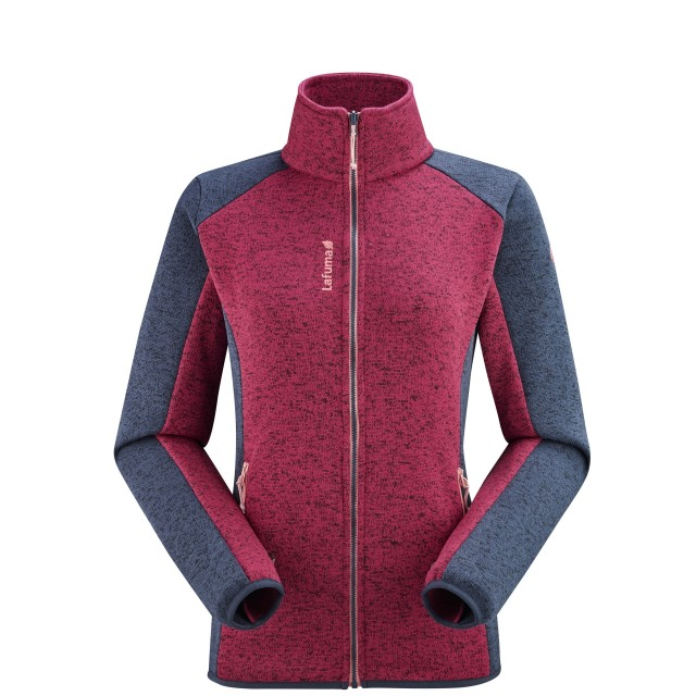Polaire - Femme - ROUGE CLOUDY F-ZIP W Lafuma