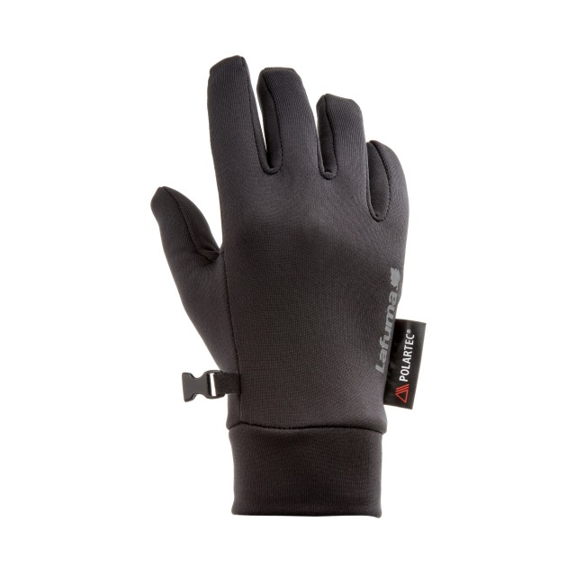 Gants en Polartec  - NOIR POWERSTRETCH GLOVE  Lafuma