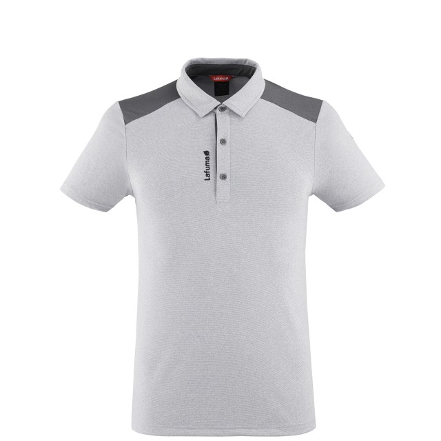 Polo Manches courtes Homme SHIELD POLO M GRIS Lafuma