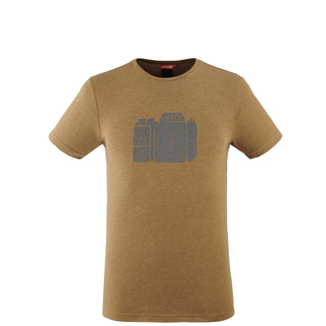 Tee-Shirt Manches courtes Homme ADVENTURE TEE M CAMEL Lafuma