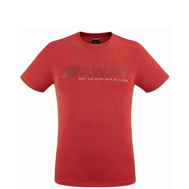 Tee-Shirt Manches courtes Homme SHIFT TEE M ROUGE Lafuma