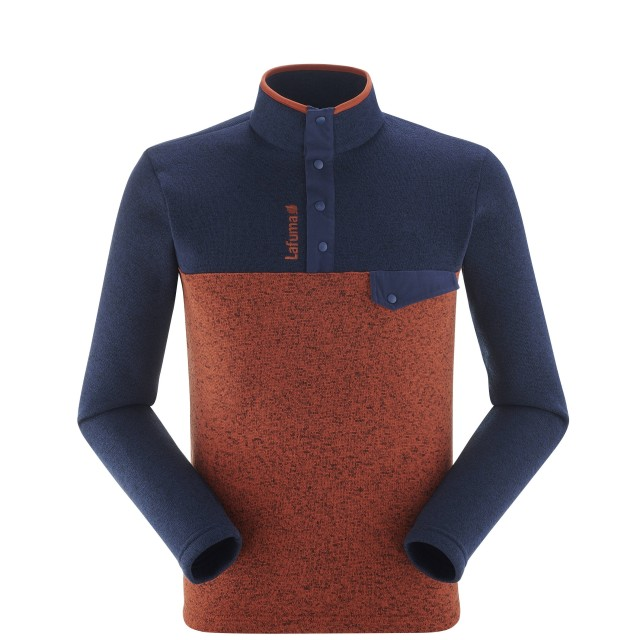 Pull - Homme - ROUGE CLOUDY SWEATER M Lafuma