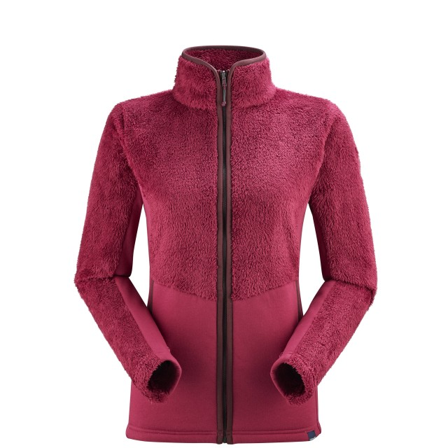 Polaire cocooning - Femme - ROUGE CHATHAM F-ZIP W Lafuma