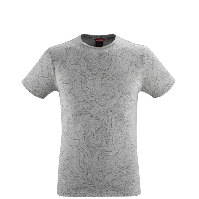 Tee-Shirt manches courtes - Homme - GRIS GRAPHIC TEE M Lafuma