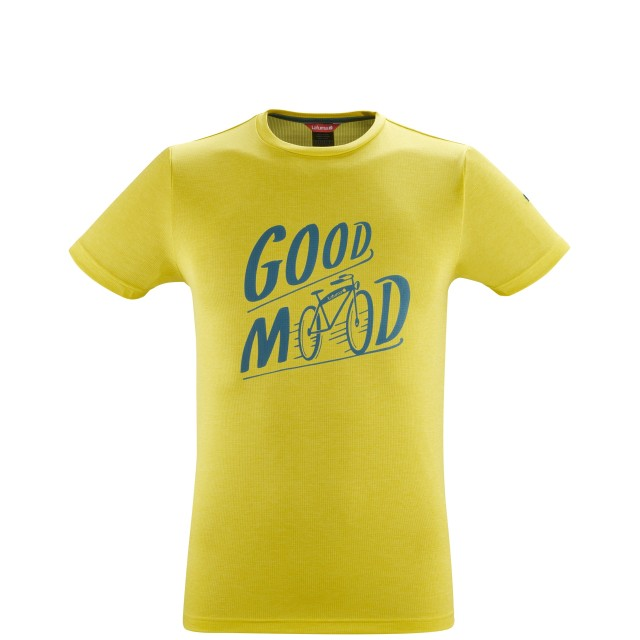 Tee-Shirt manches courtes - Homme - JAUNE SHIFT TEE M Lafuma