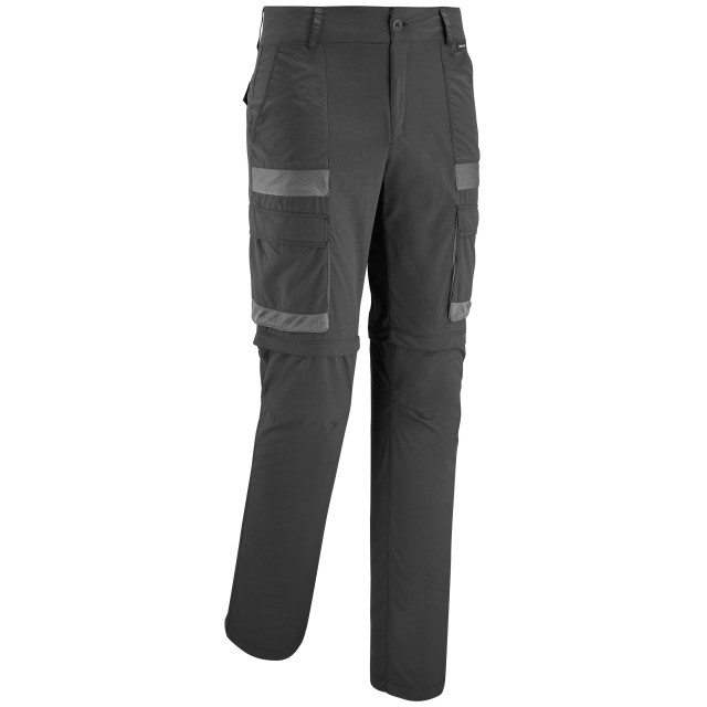 Pantalon modulable 2 en 1 - Homme - GRIS SHIELD ZIP-OFF M Lafuma