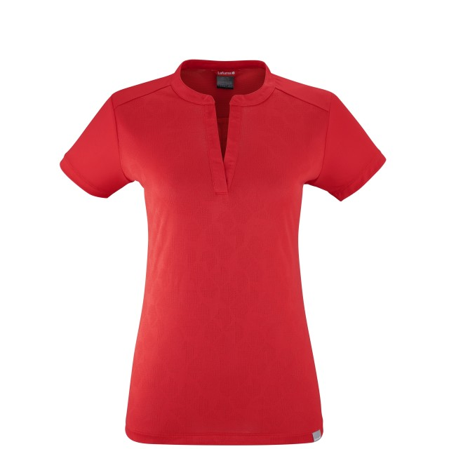 Tee-Shirt manches courtes - Femme - ROUGE HOLLIE TEE W Lafuma