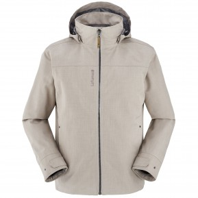 CALDO 3IN1 FLEECE JACKET Beige Lafuma