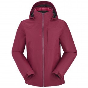LD TRACK 3IN1 LOFTJACKET Rose Lafuma