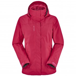 LD  ACCESS 3IN1 FLEECE JACKET Rose Lafuma