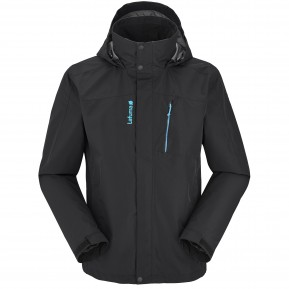 ACCESS 3IN1 FLEECE JACKET Noir Lafuma