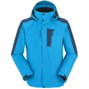 ACCESS 3IN1 FLEECE JACKET Bleu Lafuma