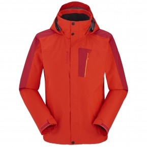 ACCESS 3IN1 FLEECE JACKET Rouge Lafuma