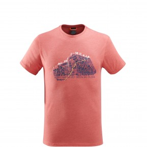ADVENTURE TEE Rouge Lafuma
