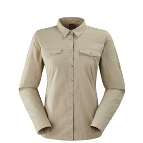 SHIELD SHIRT W Beige Lafuma