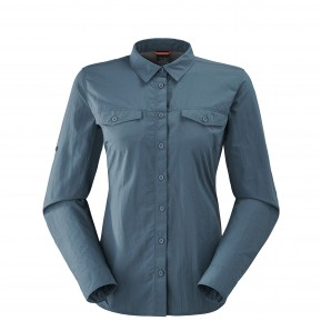 SHIELD SHIRT W GRIS Lafuma