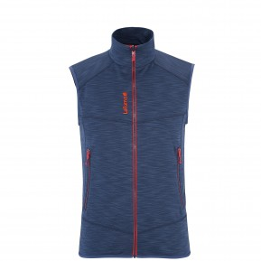SHIFT VEST ZIP-IN Bleu Lafuma