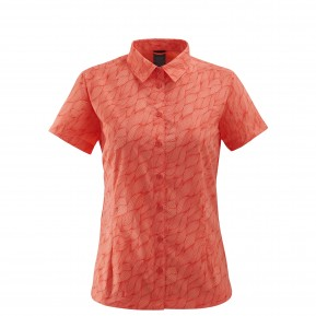 LD WAY SHIRT PRINT Rouge Lafuma