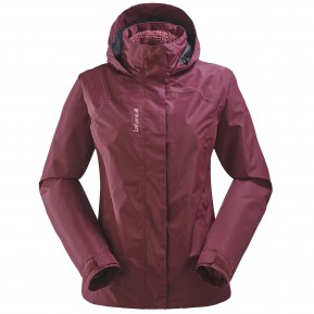 LD ACCESS 3in1 FLEECE JKT Rouge Lafuma