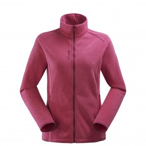 LD TECHFLEECE F-ZIP Rose Lafuma