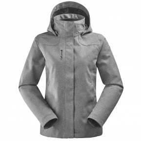 CALDO HEATHER 3in1 JKT W Gris Lafuma