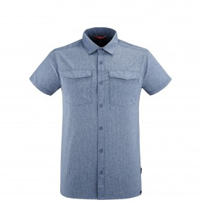 AIR SHIELD SHIRT SS M BLEU  Lafuma