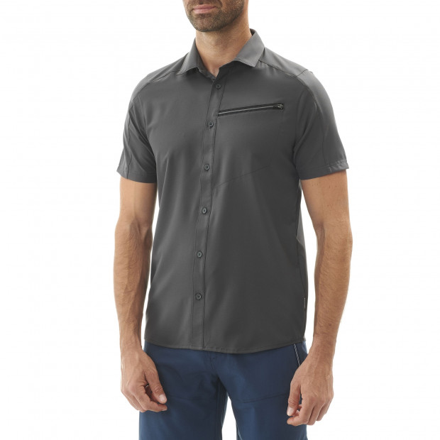 Short sleeves shirt - Men SKIM SHIRT Blue Lafuma 2