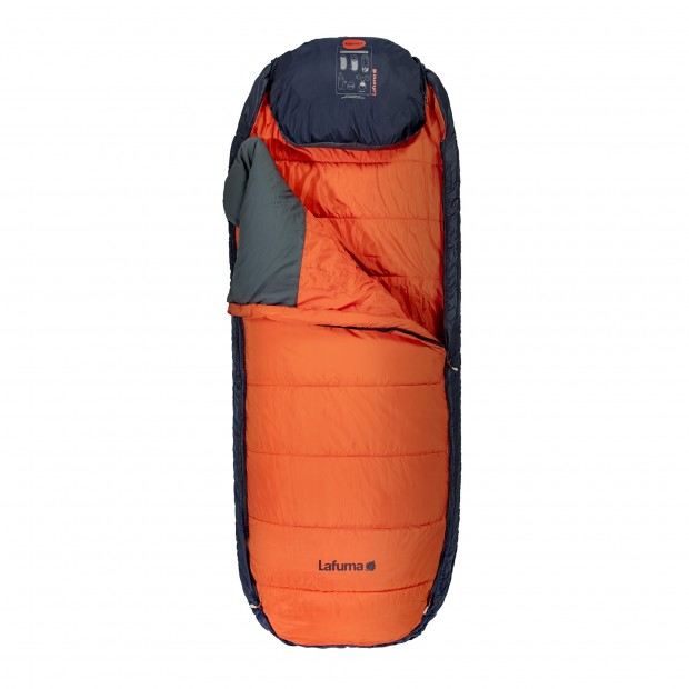 Sleeping bag NUNAVÜT ORANGE Lafuma 2