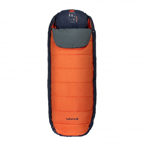 Sleeping bag NUNAVÜT ORANGE Lafuma
