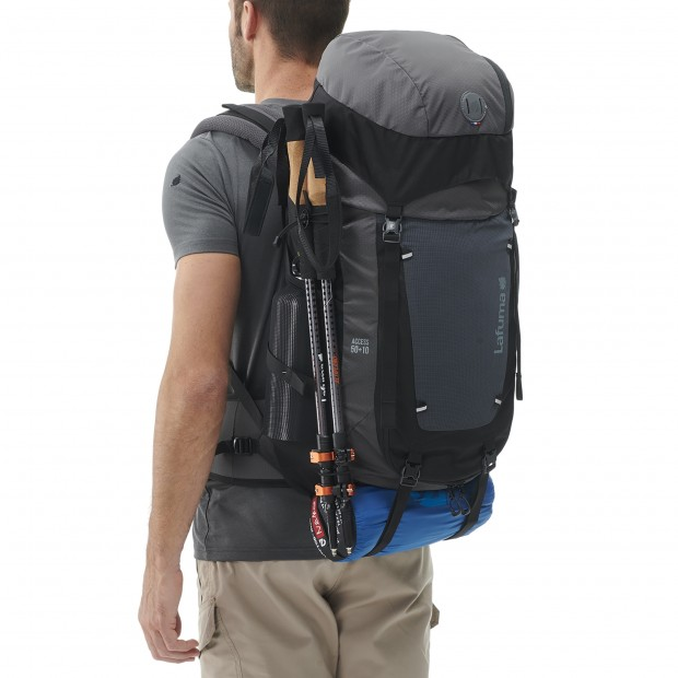 Backpack - 50L ACCESS 50+10 BLACK Lafuma 5