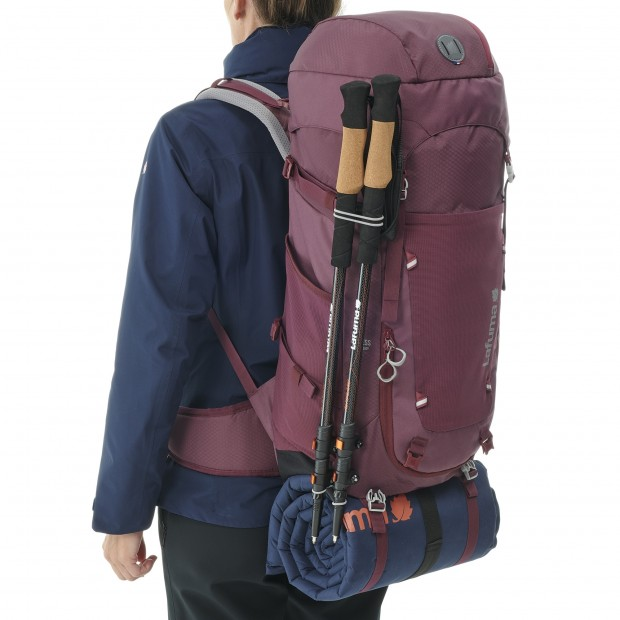 Backpack -Women - 40L ACCESS 40 W VIOLET Lafuma 4