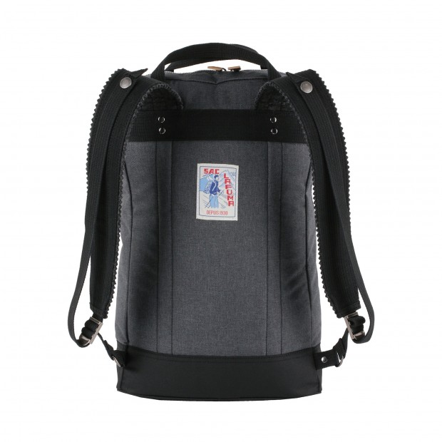 Backpack L'ORIGINAL ZIP W BLACK Lafuma 2
