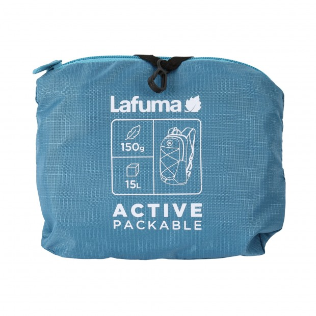 Ultra-packable Backpack - BLUE ACTIVE PACKABLE Lafuma 3