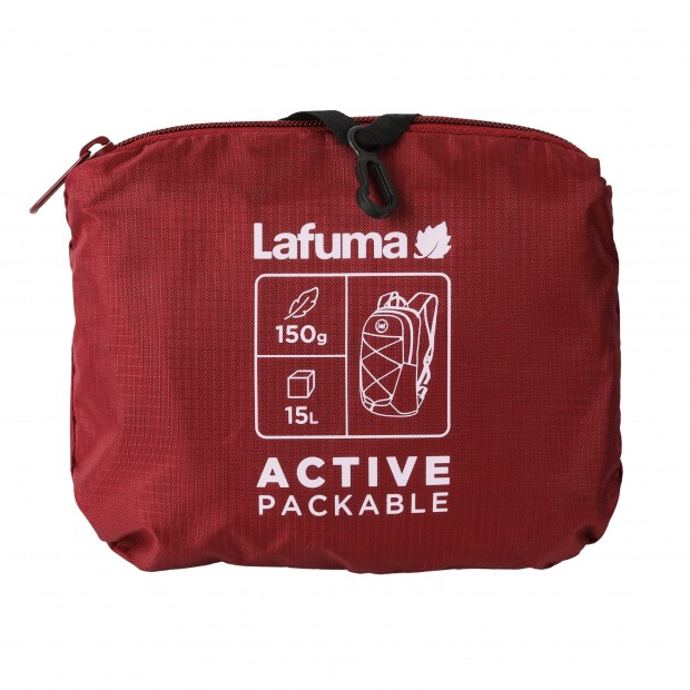 Packable backpack - Unisex - RED ACTIVE PACKABLE Lafuma 3